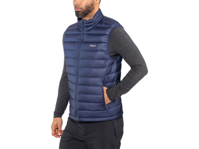 size 40 3753d 3cce3 Patagonia Gilet in piumino Uomo, classic navy w/classic navy